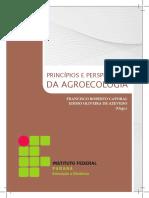 Princípios e Perspectivas da Agroecologia