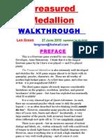 Treasured Medallion Walkthru-Len Green