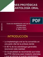 Prótesis sobre implantes - Diapositivas de Slideshare (Rehabilitación oral).pdf