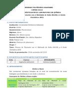 Proceso de Titulación con el Hidróxido de Sodio (NaOH) y el Ácido Clorhídrico (HCl)