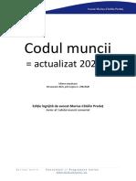 Codul Muncii Actualizat - avocat Marius-Cătălin Preduț