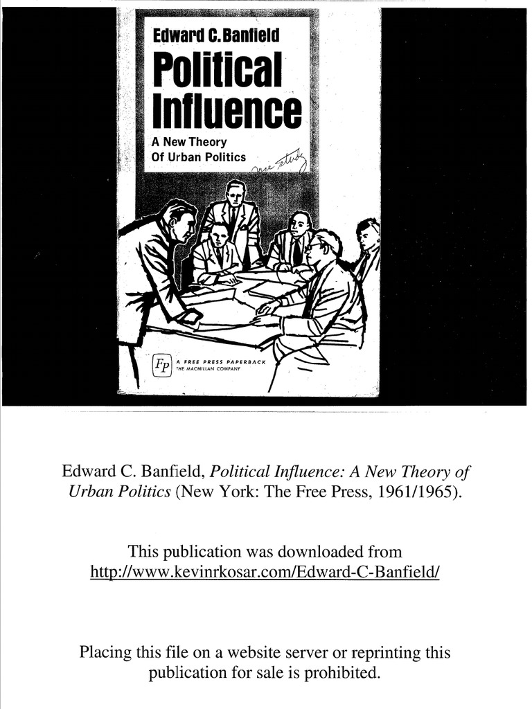 Edward C Banfield Political Influence A New Theory Of Urban However The Public Zba Bt22k2042 Datasheet Has Complete Schematic Politics Hospital Patient