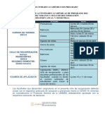 Final Cronograma de Actividades 2021 Pregrado
