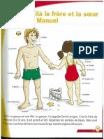 ALF 2 Leçon 1 Le frere et la soeur de Manuel (corps et verbes er)