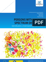 Autism Europe, PERSONS WITH AUTISM SPECTRUM DISORDERS Identification, Understanding, Intervention