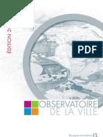 Présentation de l'édition 2010-2011 de l'Observatoire de la Ville