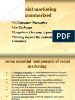 Social marketing summarized