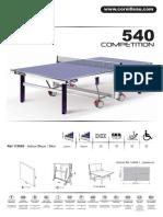 Instruciones de montaje 540 ITTF