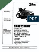 craftsman 12hp