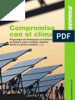 Propuestas Green Peace Al Gobierno Frente Al Cambio Climatico