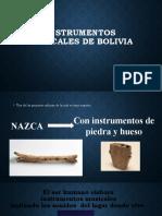 Tema 2  1ro sec Instrumentos musicales de Bolivia