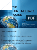 Lecture 1 Introduction to the study of Globalization.pptx