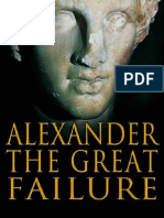 Alexander the great's failure