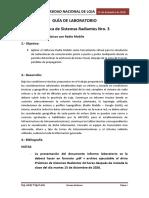 GUÍA DE LABORATORIO 3 SR-2020-2021
