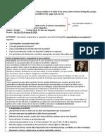 Secuencia didáctica 11 de español 2do. grado.