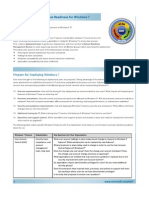 MOF Action Plan - Release Readiness for Windows 7