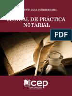 Manual de practica notarial - Diaz Penaherrera, Darwin; copia.pdf