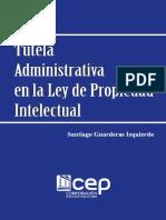Tutela administrativa en la Ley de Propied - Guarderas Izquierdo, Santiago; copia.pdf