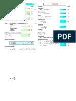 calcul poteau poutre à l'ELU et ELS