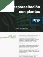 Desparasitación con plantas