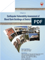 Seismic Evaluation of Blood Banks in Nepal