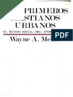meeks, wayne  - los primeros cristianos urbanos.pdf