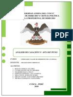 ANÁLISIS DE CASACIÓN N° 1672-2017-PUNO -.pdf