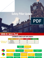 UPDATE SAFETY PILLAR 2020 - COVID19