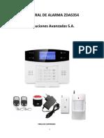 Alarma Zdas354_esp