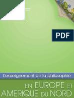 UNESCO ENSEÑANZA DE LA FILOSOFÍA EN EUROPA Y NORTEAMERICA