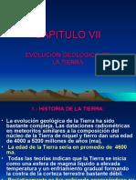 CAPITULO VII Evolución Geológica de la Tierra.ppt