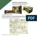 fuente EP-925 modifications