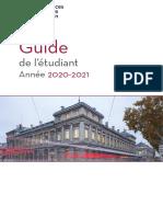 SEG guide_etudiant 2020-2021