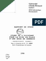 62416-etude-de-l-existant-pour-la-mise-en-place-d-une-base-de-donneesrapport-de-stage