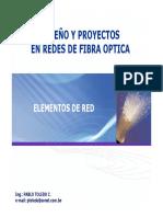 Diseño y Proyectos Redes FO 1(Elementos de red)