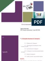 CHAPITRE V ENVIRONNEMENT ECONOMIQUE COM. INTERN. INSIM 2015