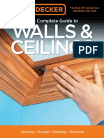 (Black & Decker Complete Guide) Editors of Cool Springs Press - Black & Decker The Complete Guide to Walls & Ceilings_ Framing - Drywall - Painting - Trimwork-Cool Springs Press (2015)