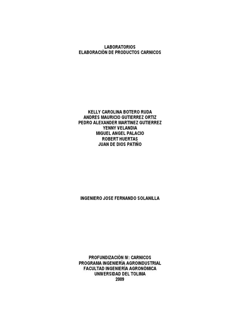 Elaboracion de productos carnicos ccuart Gallery
