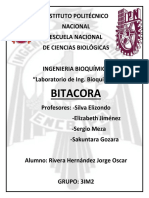 Bitácora de práctica Deshidrogenasa succínica y citocromos