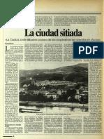 Articulo Ciudad Jardin en El Periodico