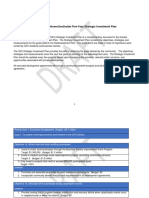 GFS Strategic Investment Plan