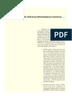 IPCA,IPC-FIPE E IPC-BR DIFERENÇAS METODOLOGICAS E EMPIRICAS
