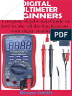 DIGITAL MULTIMETER FOR BEGINNERS_ Complete step by step Guide on how to use all the functions on your digital multimeter