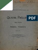 Quatre Préludes Pour Harpe