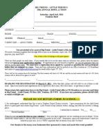 2011 Bowlathon Registration