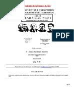 LAS TRES FUENTES Y TRES PARTES DEL MARXISMO-LENIN-REVIZADO POR POLO