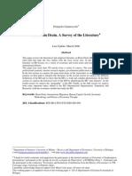 Brain Drain Literature Survey1