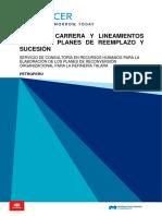 PMRT - 09 Informe Líneas de Carrera y Sucesión - Parte 1 (Sucesión)