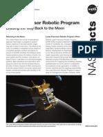 NASA Facts Lunar Precursor Robotic Program