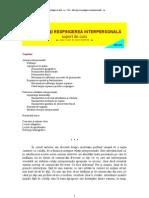Curs 05 - ATRACTIA & RESPINGEREA INTERPERSONALA (v-2011)